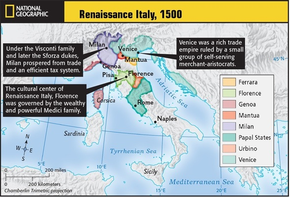 Italy Map 1500.Mw Maps Mrs Lofland S History Classes